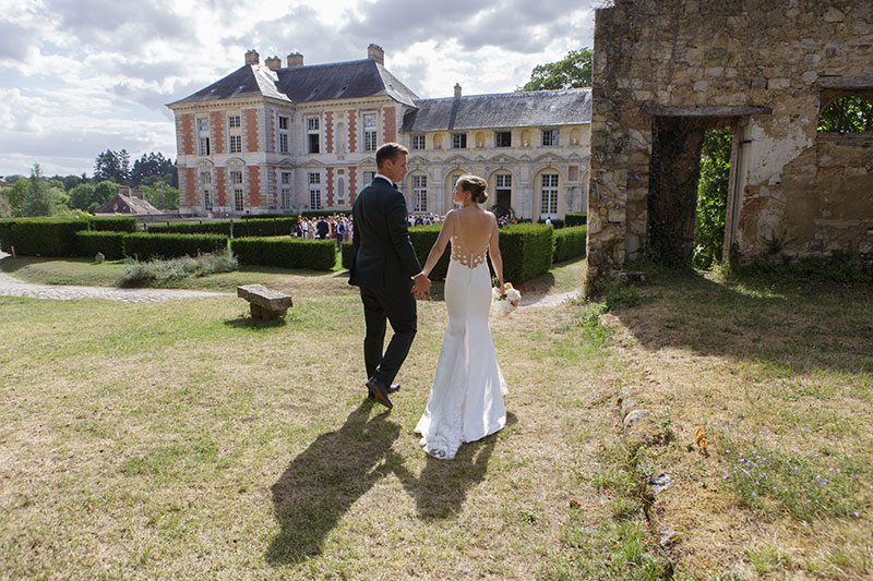 Chateau wedding French countryside French wedding