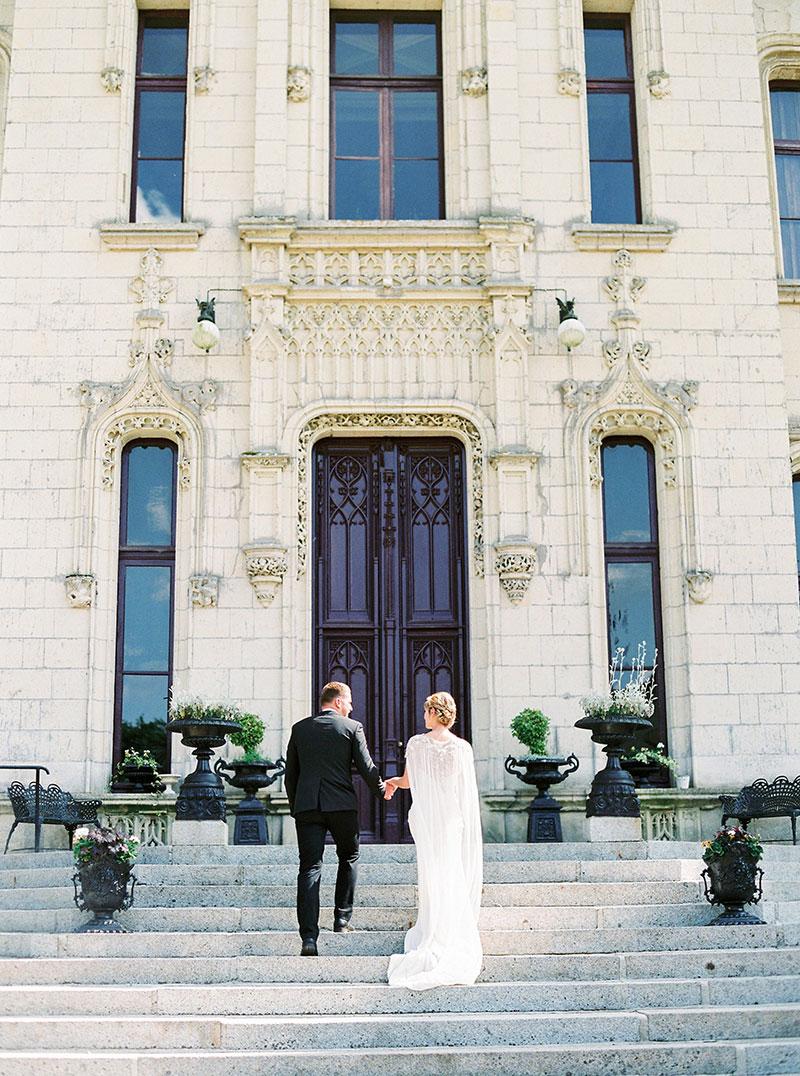Chateau Challain Elegant chateau wedding French countryside Bridal makeup Destination wedding Paris