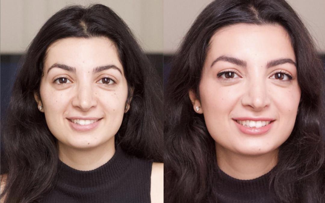 Parisian Sophisticated Natural Makeup Look