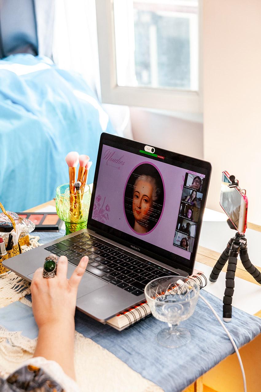 learn 18th century makeup tutorials